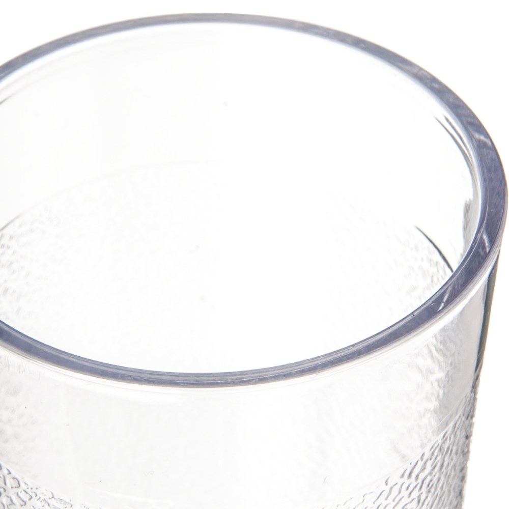 Alternate Image #2 of 5 oz. Clear Stackable Tumblers - Set of 10