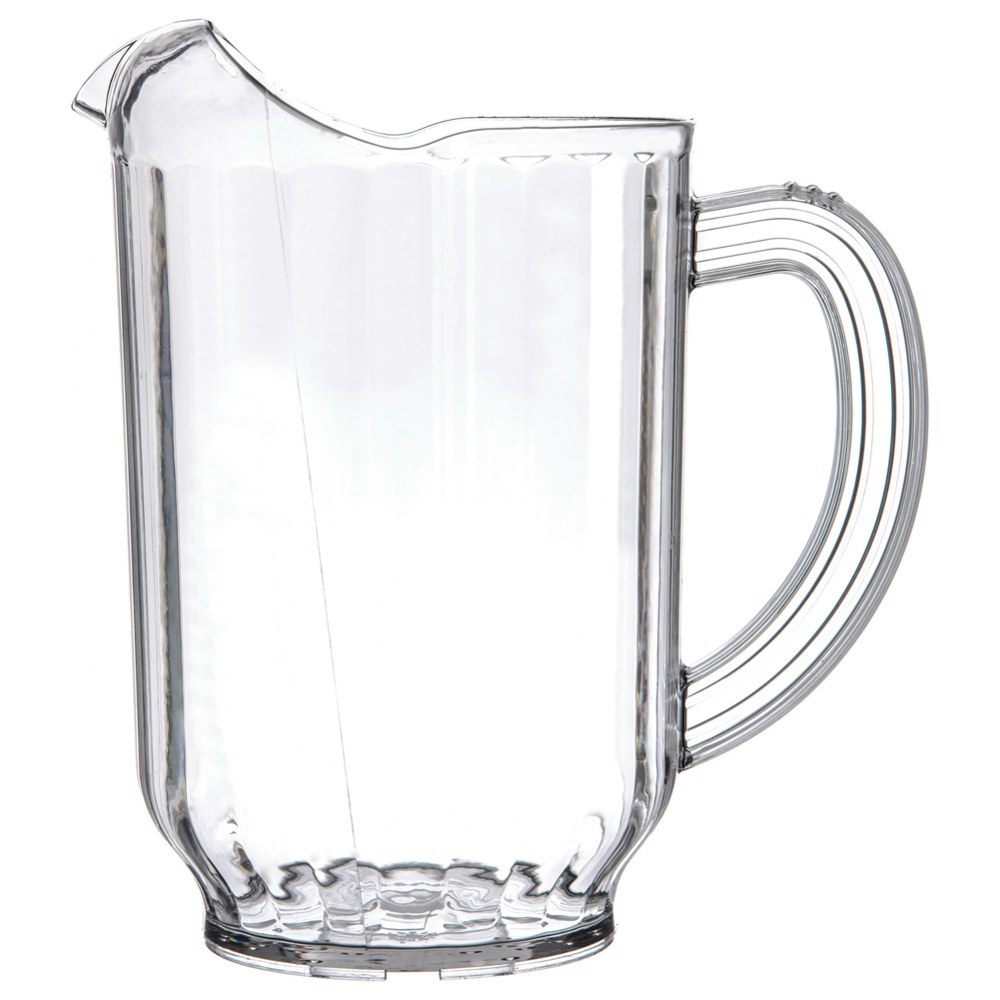 Alternate Image #1 of 60 oz. Clear Pitcher