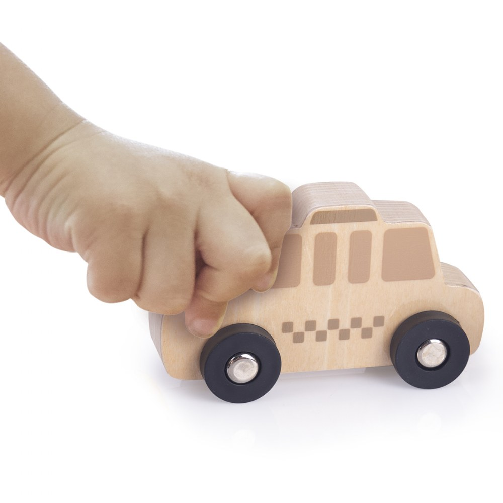 Alternate Image #2 of Mini Wooden Trucks - Set of 10