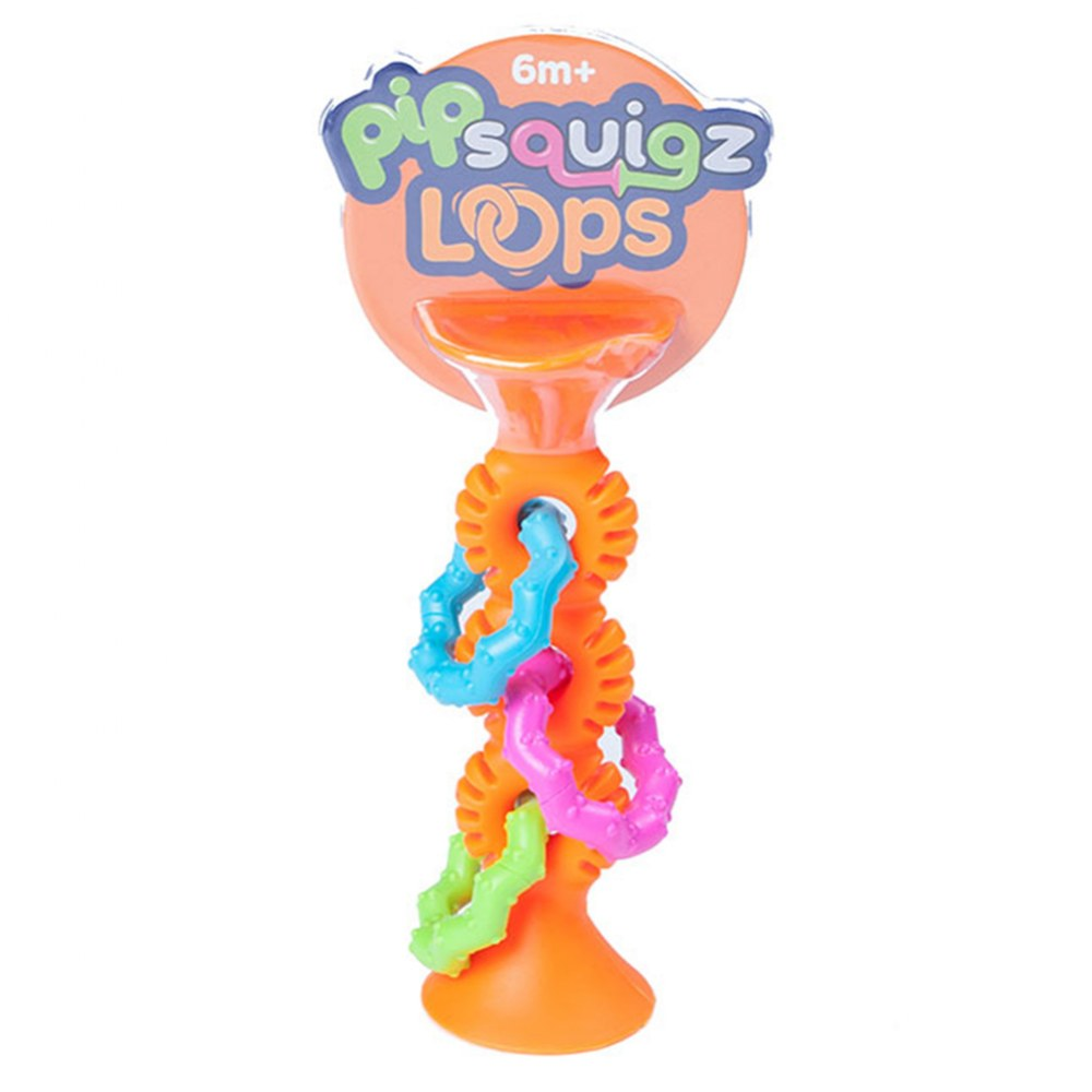 Alternate Image #11 of Pipsquigz Loops - Orange and Teal