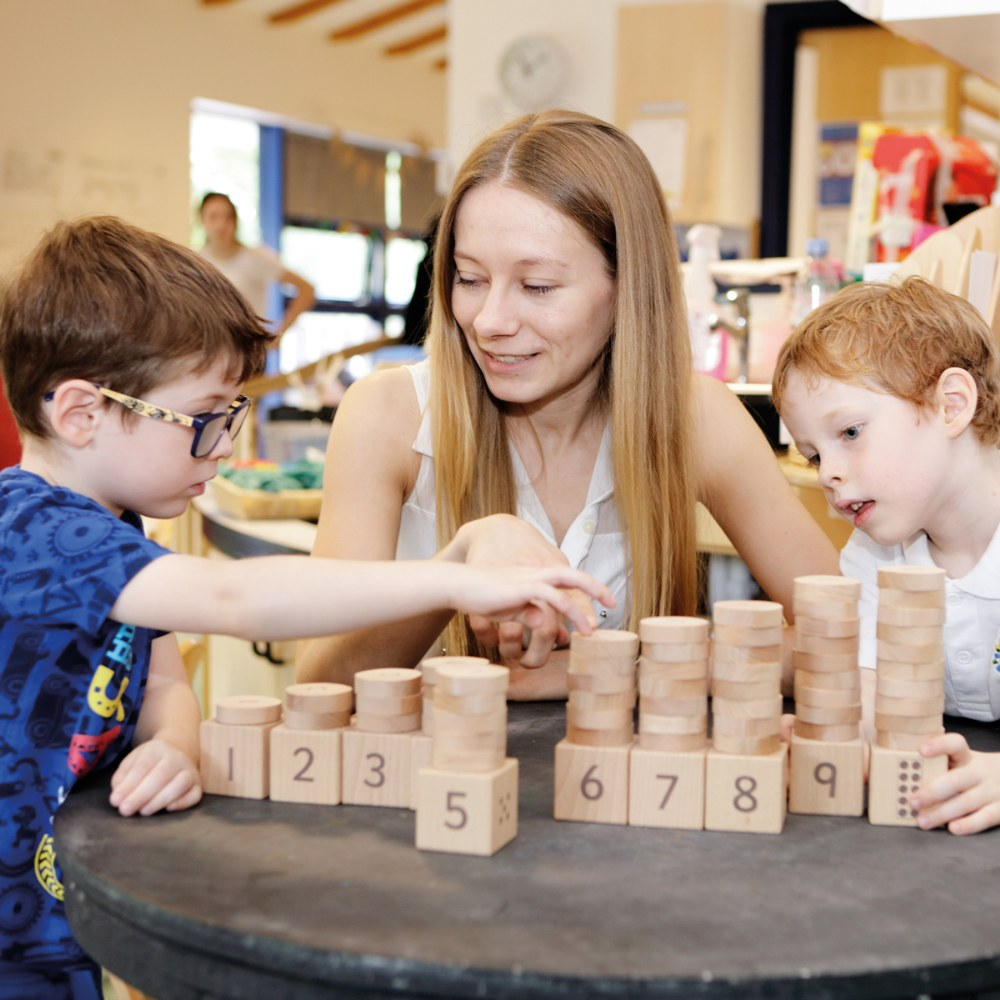 Alternate Image #1 of 1 - 10 Number Stacker - Count and Learn Through Fun and Play