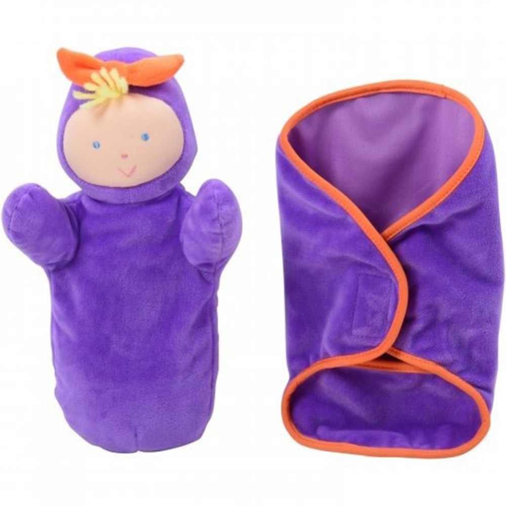 Alternate Image #1 of Soft Swaddle Babies - Set of 4