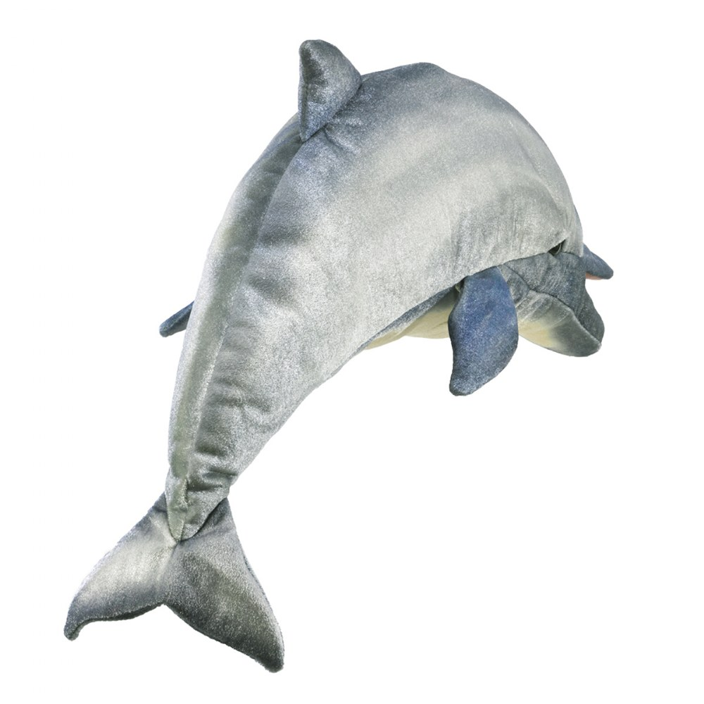 Alternate Image #1 of Dolphin Hand Puppet