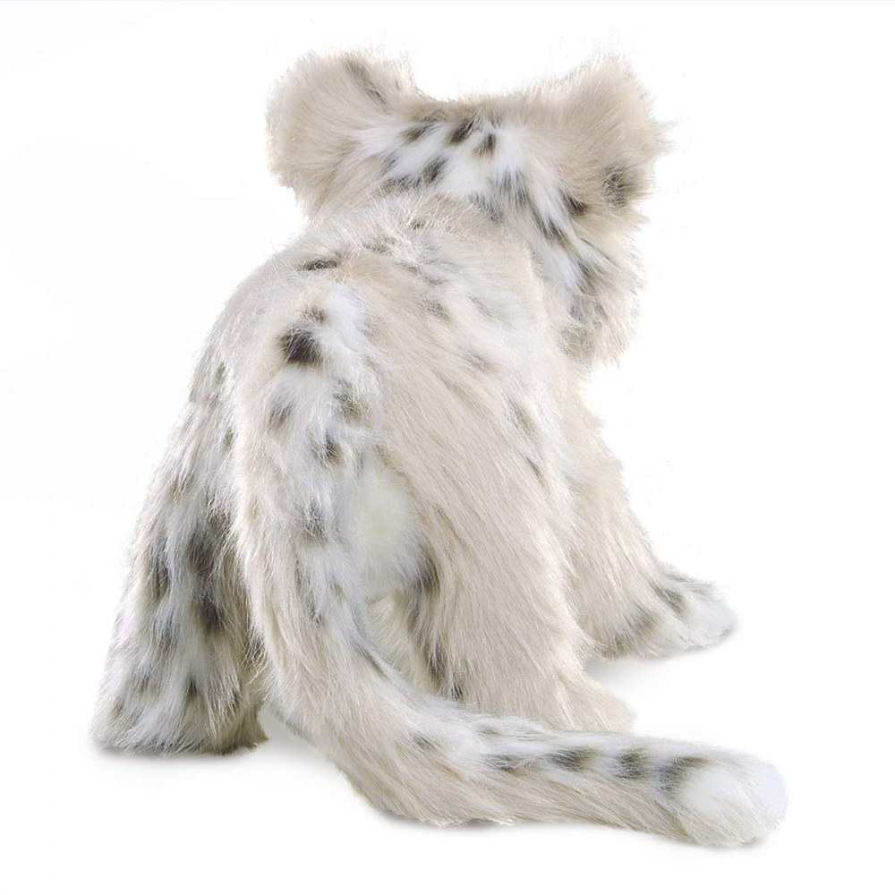 Alternate Image #1 of Snow Leopard Cub Hand Puppet