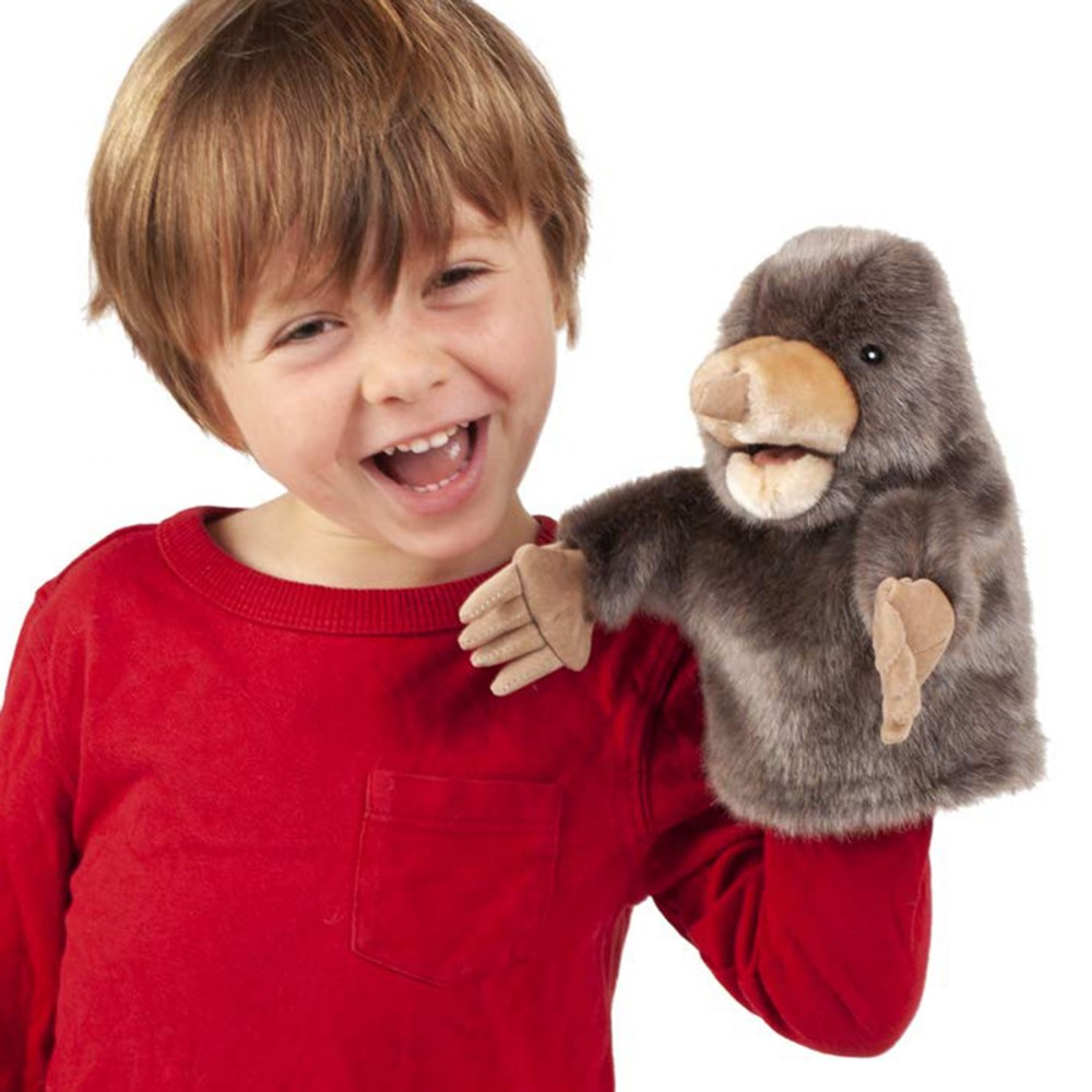 Alternate Image #2 of Little Mole Hand Puppet