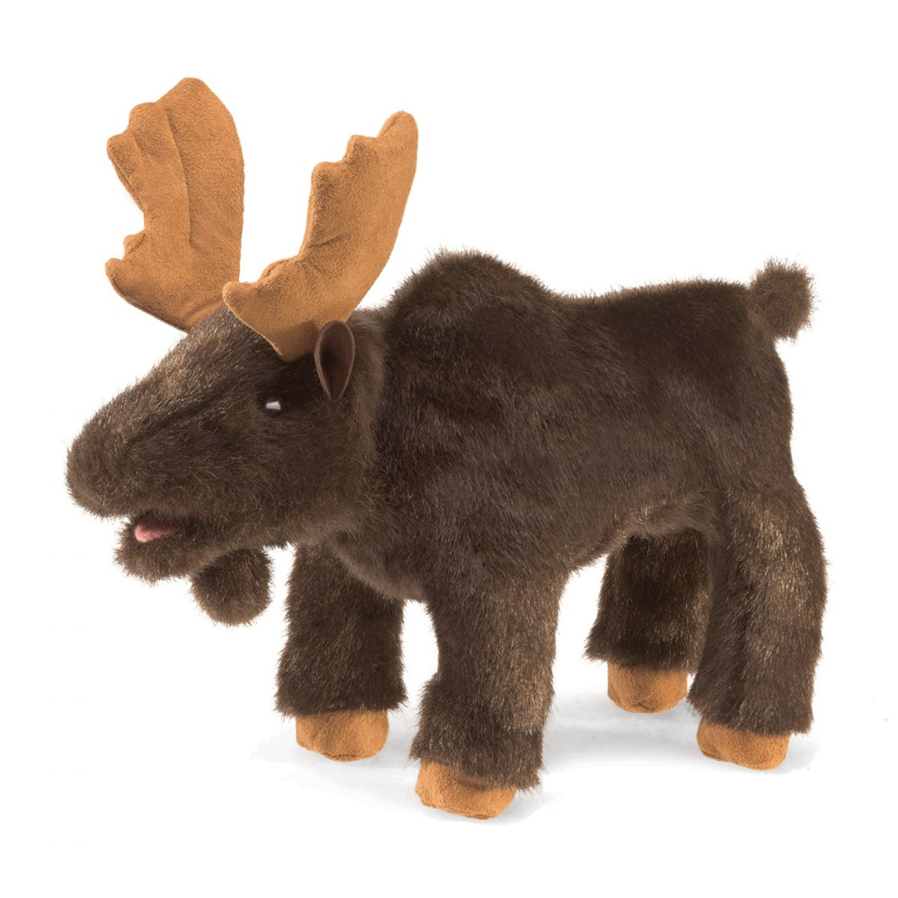 Small Moose Hand Puppet