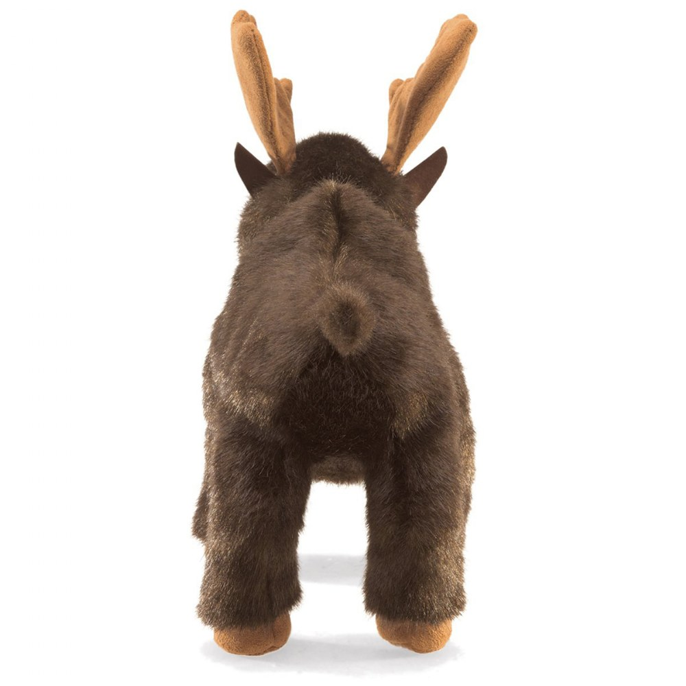 Alternate Image #1 of Small Moose Hand Puppet
