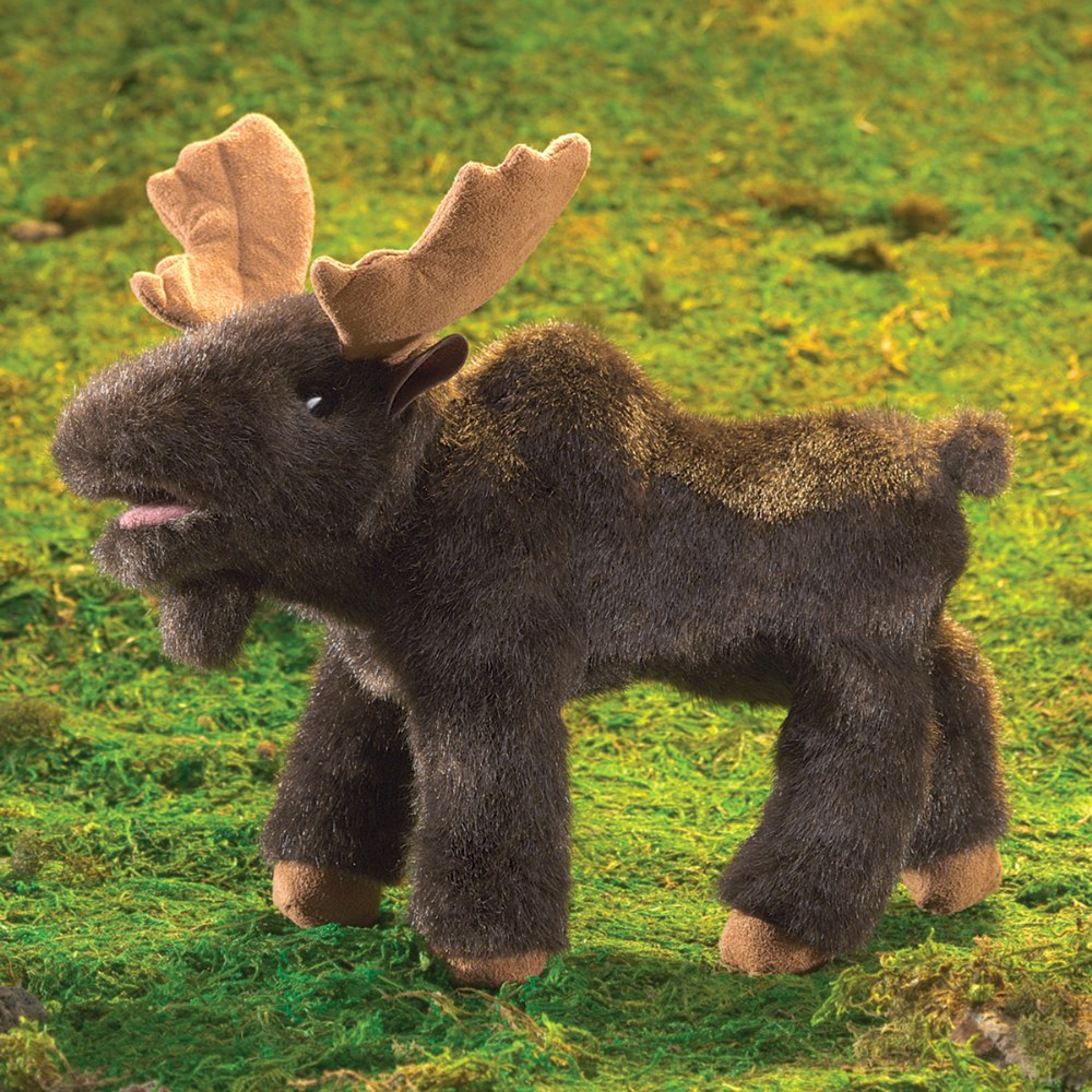 Alternate Image #2 of Small Moose Hand Puppet