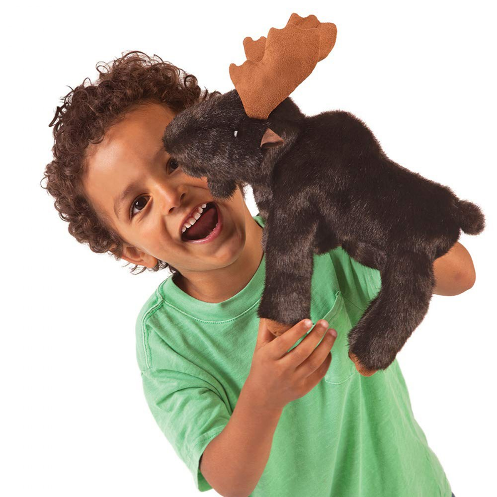 Alternate Image #3 of Small Moose Hand Puppet