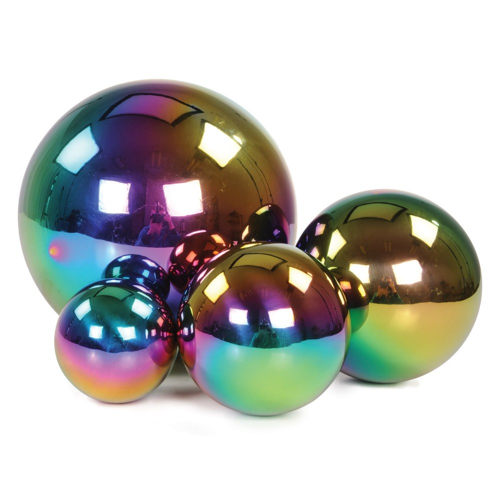 Reflective Balls - Color Burst