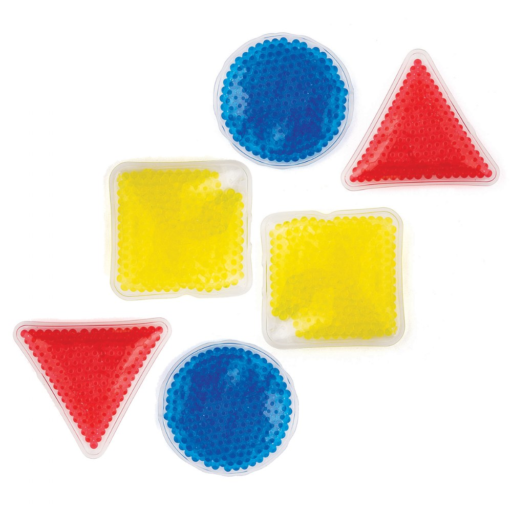 Gel-Bead Sensory Shapes - Set of 6