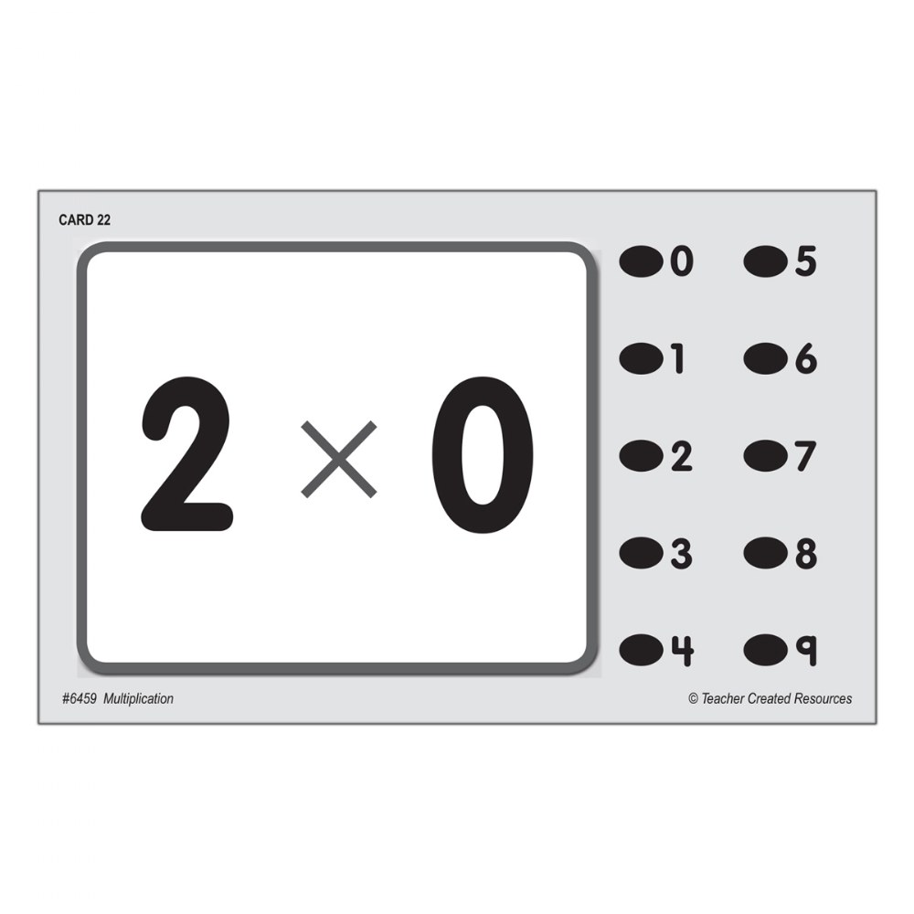 Alternate Image #1 of Power Pen Cards - Multiplication