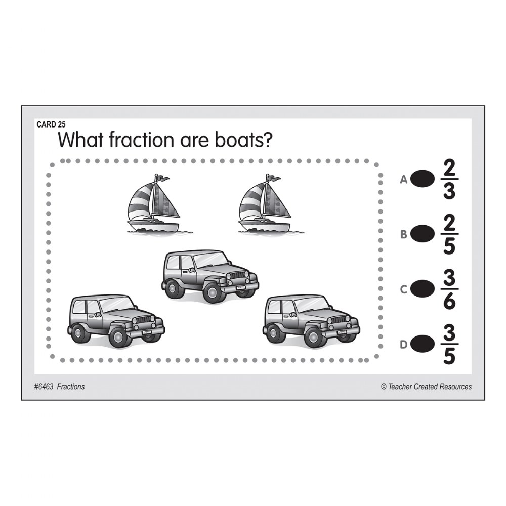 Alternate Image #2 of Power Pen Cards - Fractions