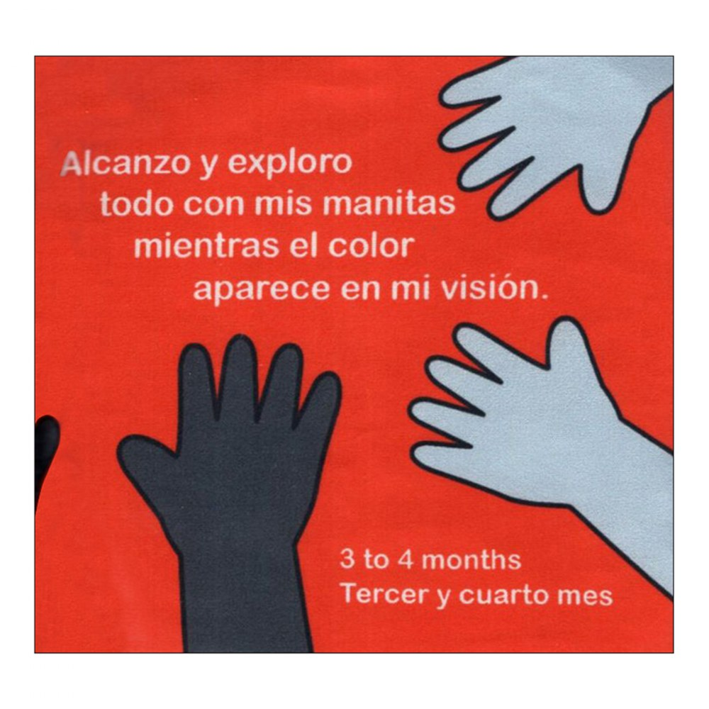 Alternate Image #4 of My World Begins - El Comienzo De Mi Mundo - Bilingual Cloth Book