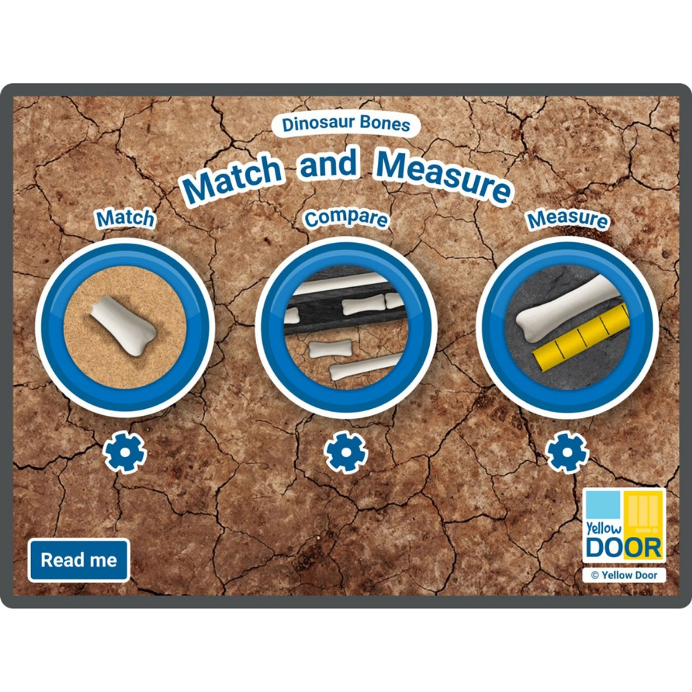 Match and Measure Large Screen and Tablet Software/App