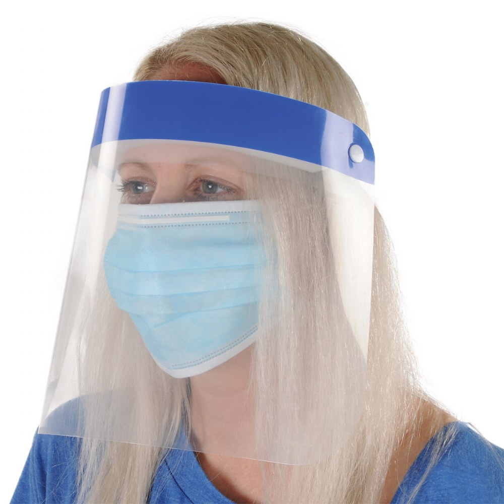 Alternate Image #4 of Adult Face Shield - Set of 10