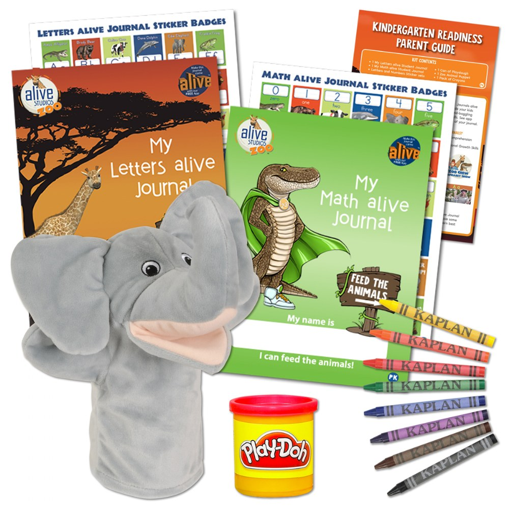 Kindergarten Readiness Zoo Crew Pack