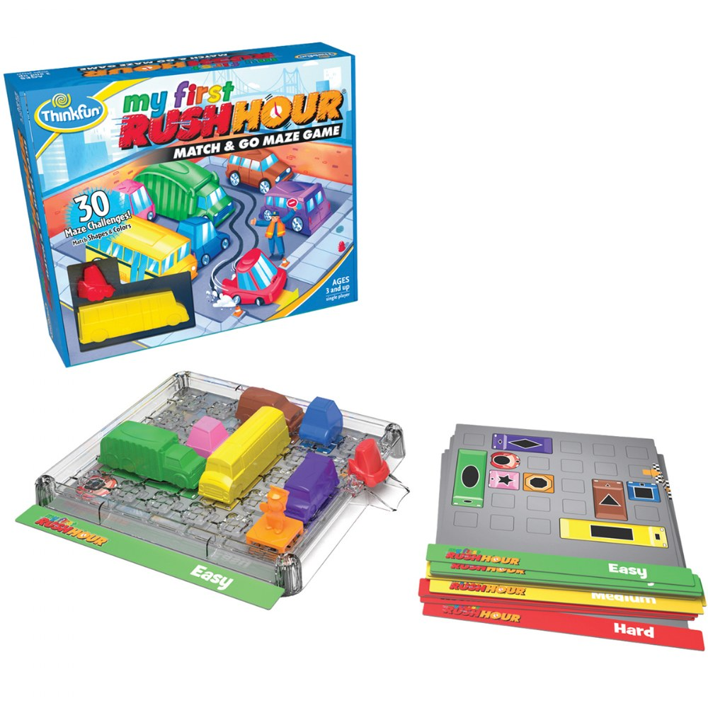 My First Rush Hour® - Match & Go Maze Game