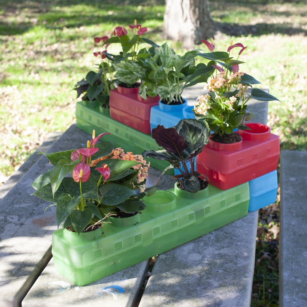 Alternate Image #2 of Gardening Blocks - 6 Pack