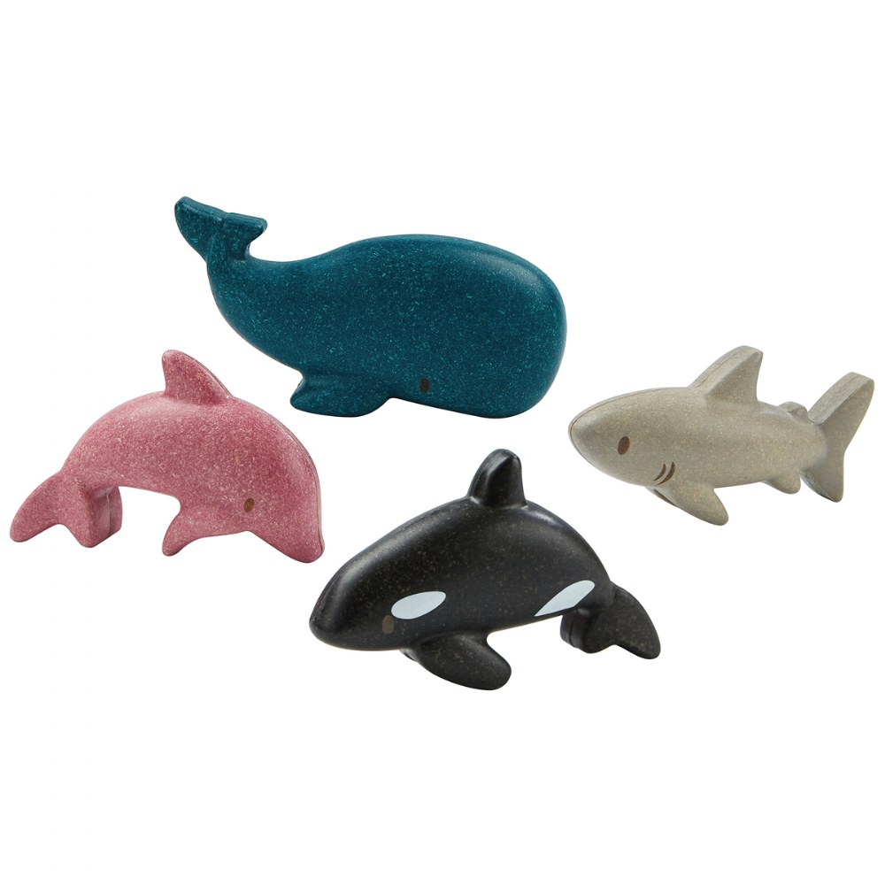 Eco-Friendly Ocean Animal Set