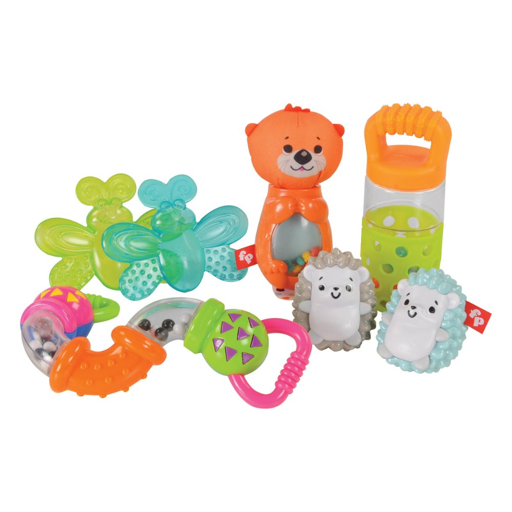 Shake, Rattle & Teething Set