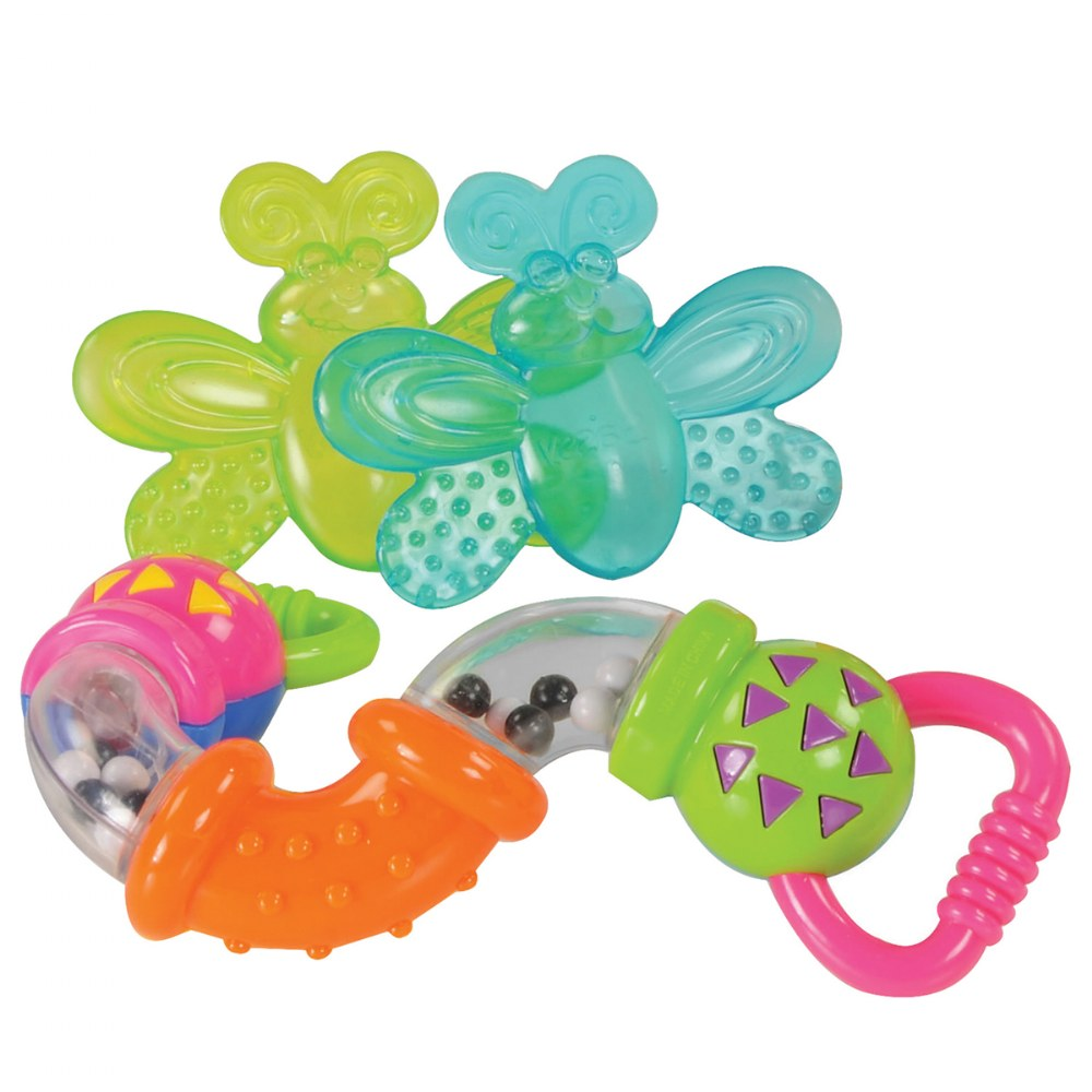 Alternate Image #1 of Shake, Rattle & Teething Set