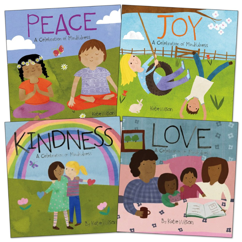 Toddler Mindfulness Book Set - Set of 4