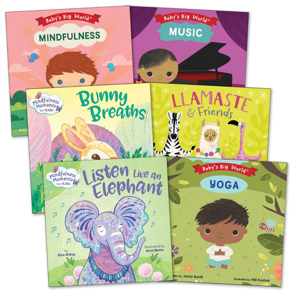 Toddler Peacefulness Book Set - Set of 6