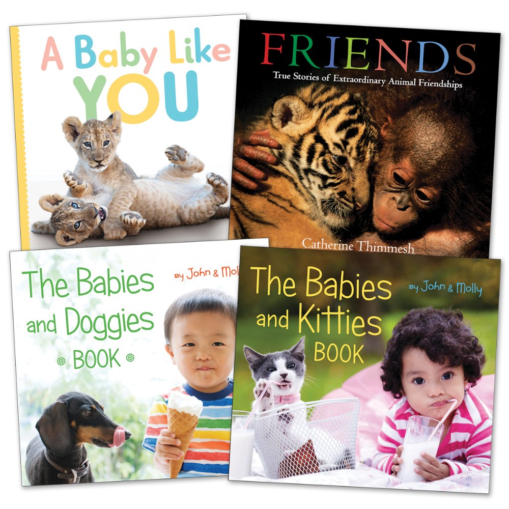 Babies Like You Book Set - Set of 4
