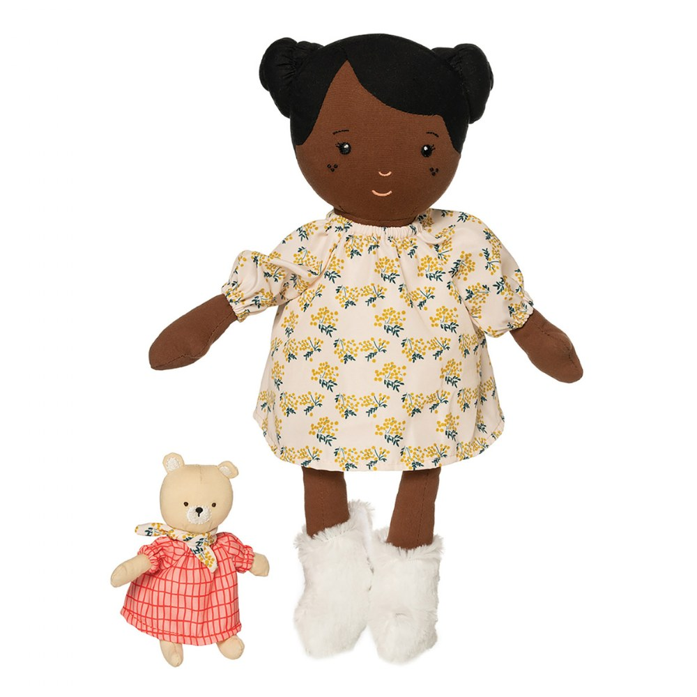 "Alternate Image #6 of Cuddly Playdate Friends Washable 14"" Soft Dolls"