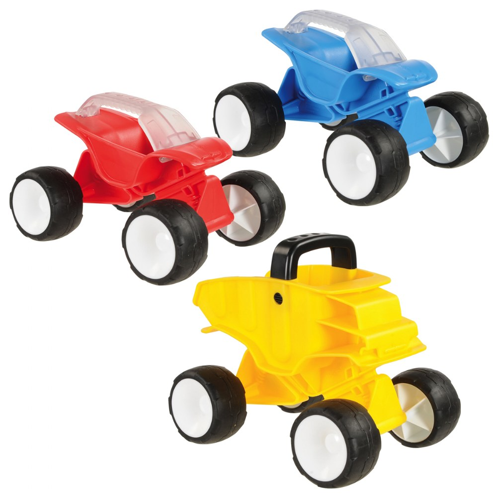 Tilt & Turn Sand Cars - Set of 3