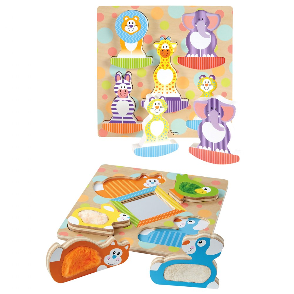 Toddlers First Textured Sensory Puzzle Kit