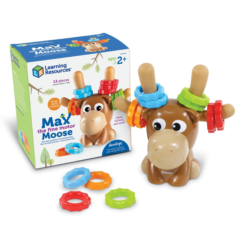 Alternate Image #8 of Max Fine Motor Moose - Color Matching Fine Motor Activity