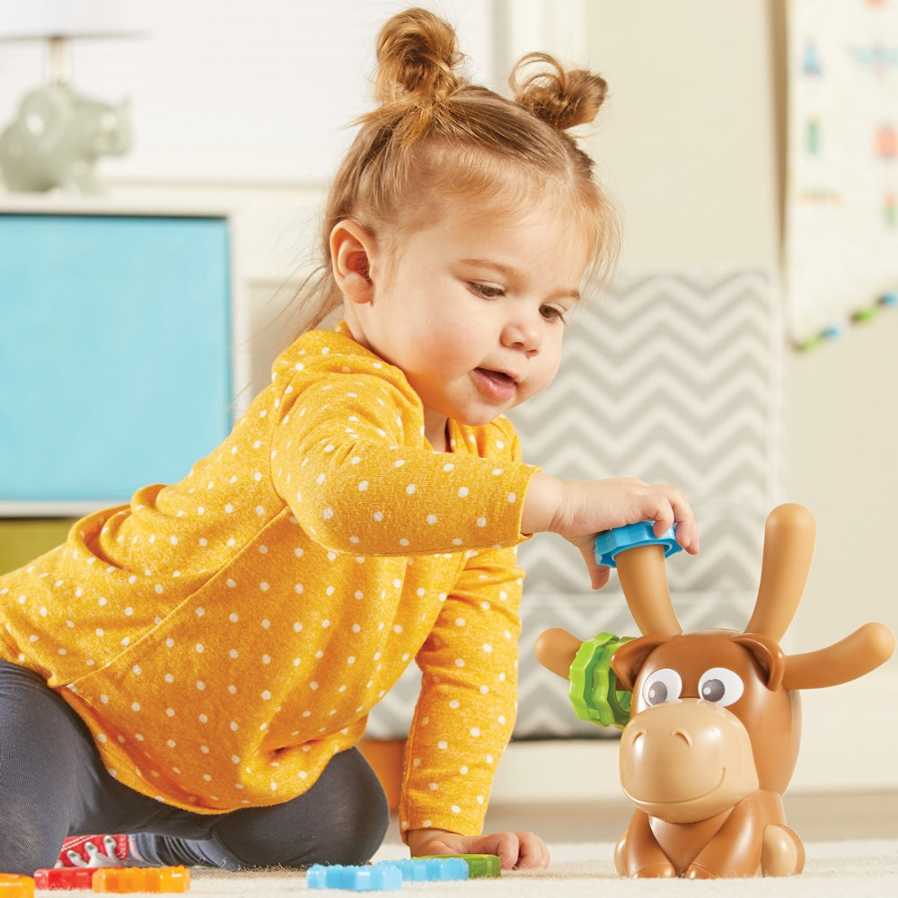 Alternate Image #6 of Max Fine Motor Moose - Color Matching Fine Motor Activity