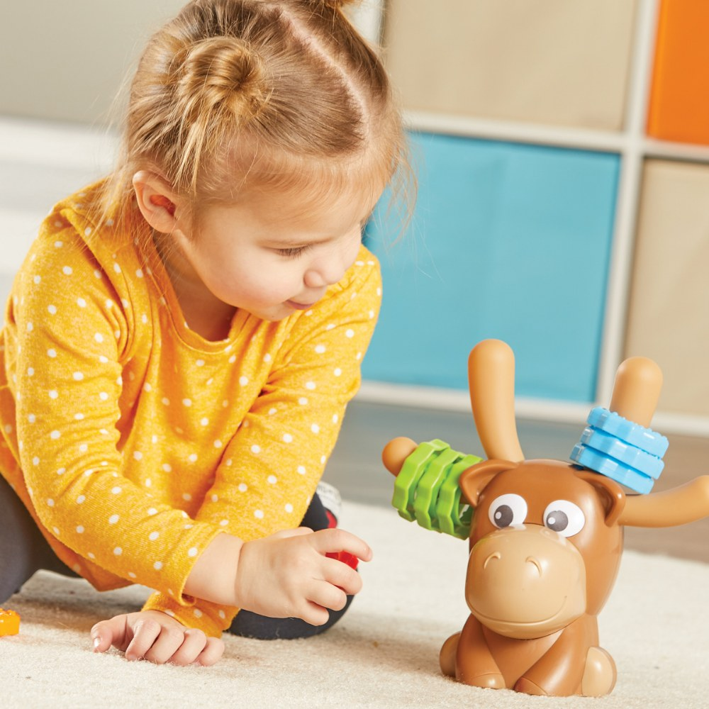 Alternate Image #7 of Max Fine Motor Moose - Color Matching Fine Motor Activity
