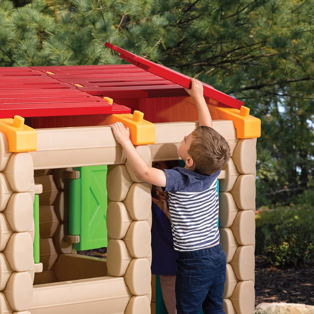 Alternate Image #10 of Big Builders Playhouse & More