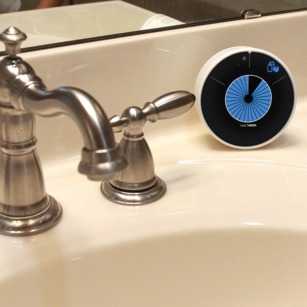 Alternate Image #3 of Touchless LED Handwashing Timer - Water Resistant