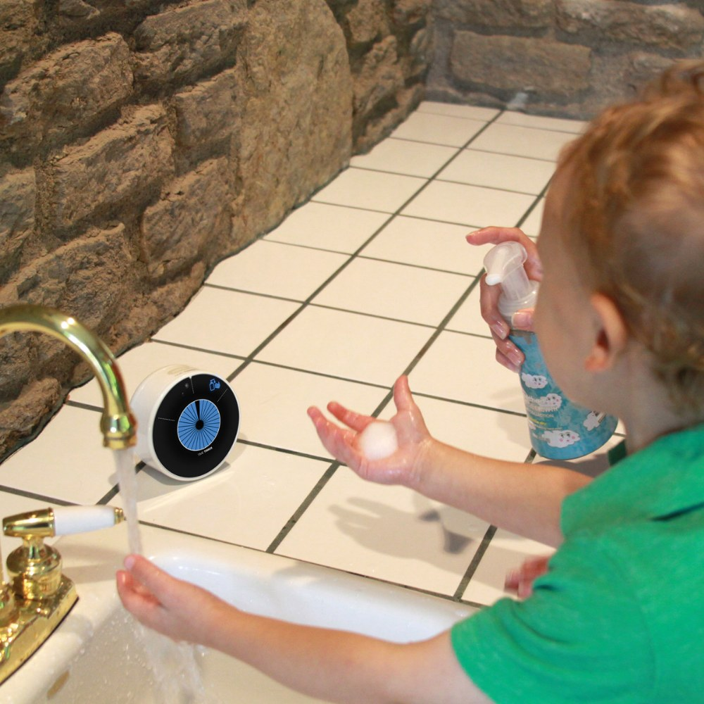 Alternate Image #4 of Touchless LED Handwashing Timer - Water Resistant