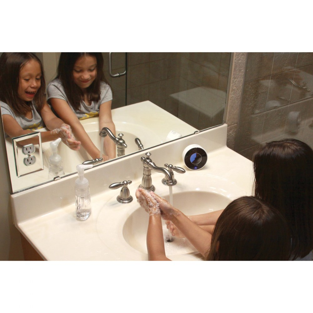 Alternate Image #5 of Touchless LED Handwashing Timer - Water Resistant