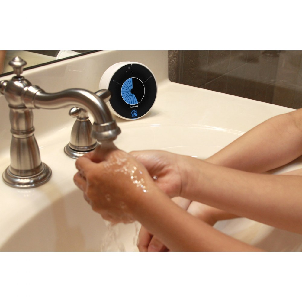 Alternate Image #6 of Touchless LED Handwashing Timer - Water Resistant