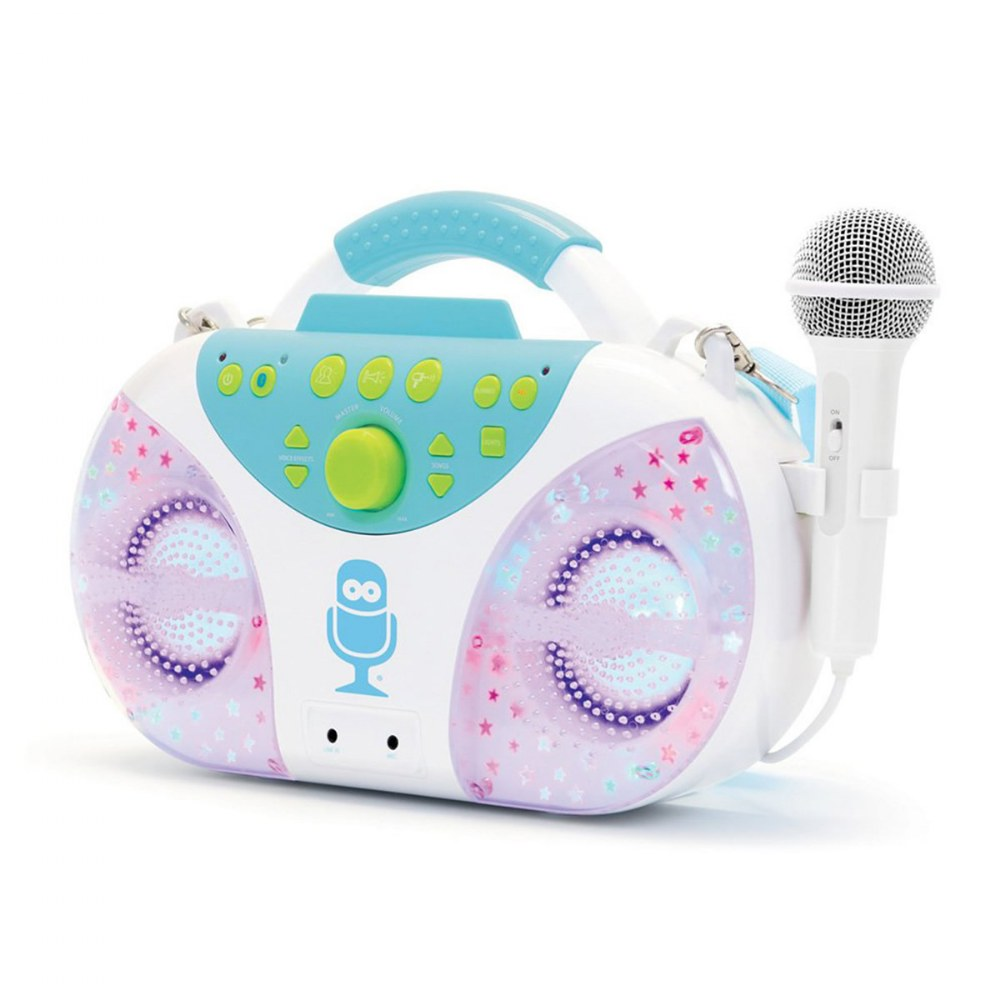 Alternate Image #1 of Superstar Karaoke Machine with Bluetooth® and Carry Strap