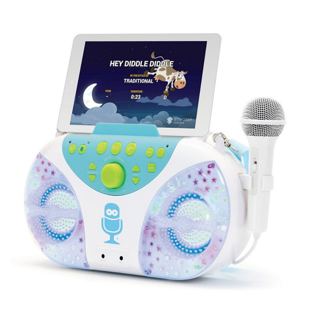 Alternate Image #2 of Superstar Karaoke Machine with Bluetooth® and Carry Strap
