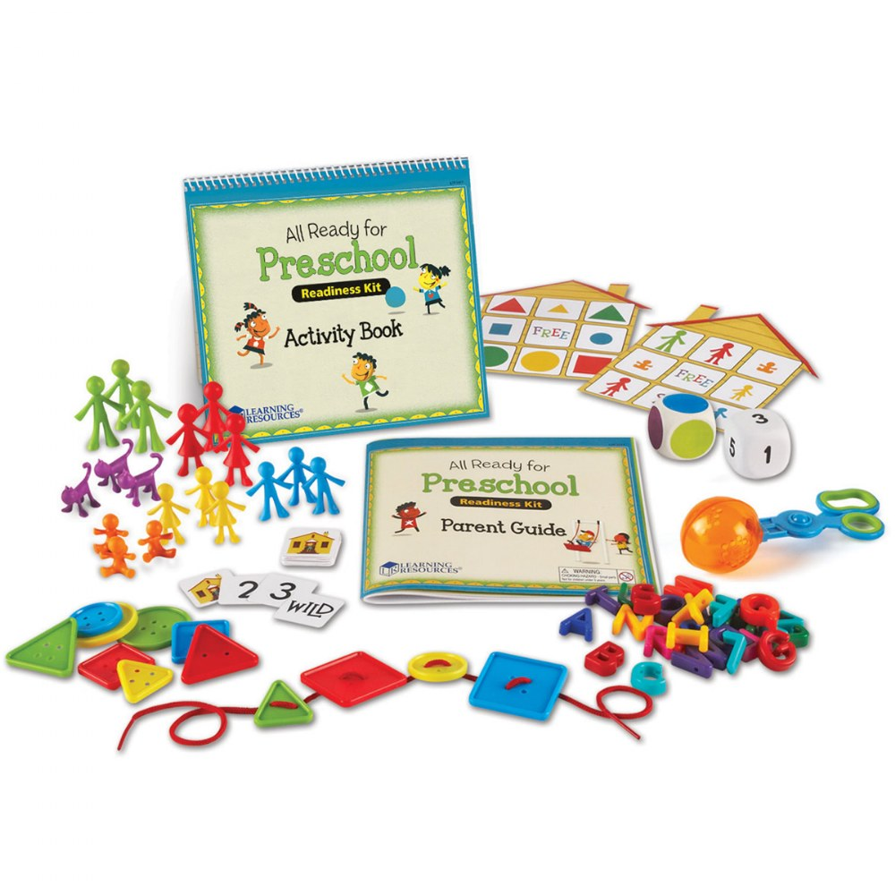 Alternate Image #1 of All Ready For PreSchool Readiness Kit