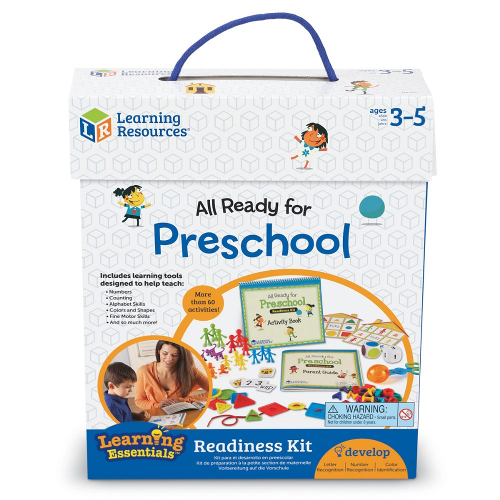 Alternate Image #2 of All Ready For PreSchool Readiness Kit