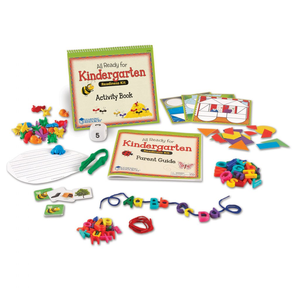 Alternate Image #1 of All Ready For Kindergarten Readiness Kit