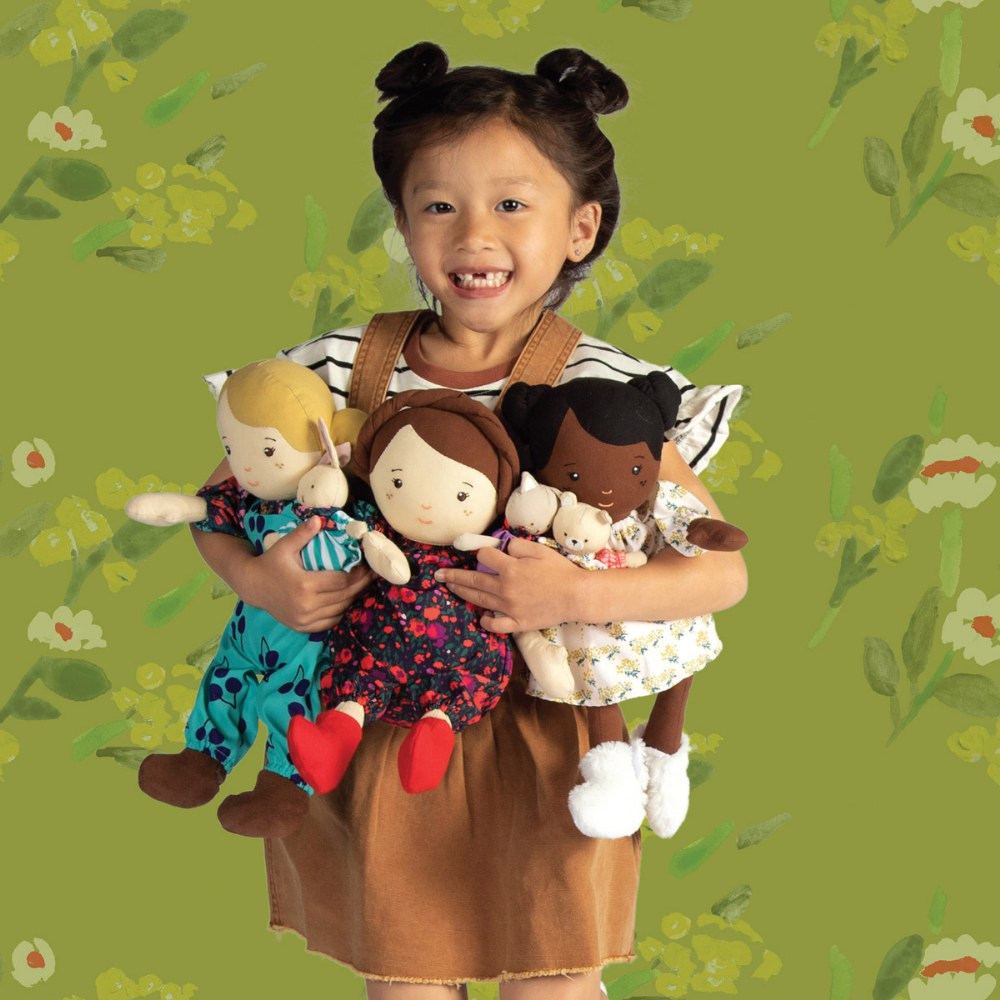 "Alternate Image #23 of Cuddly Playdate Friends Washable 14"" Soft Dolls"