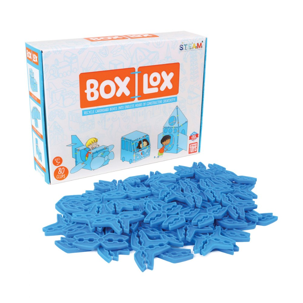 Box Lox Blue 80-Piece Starter Kit