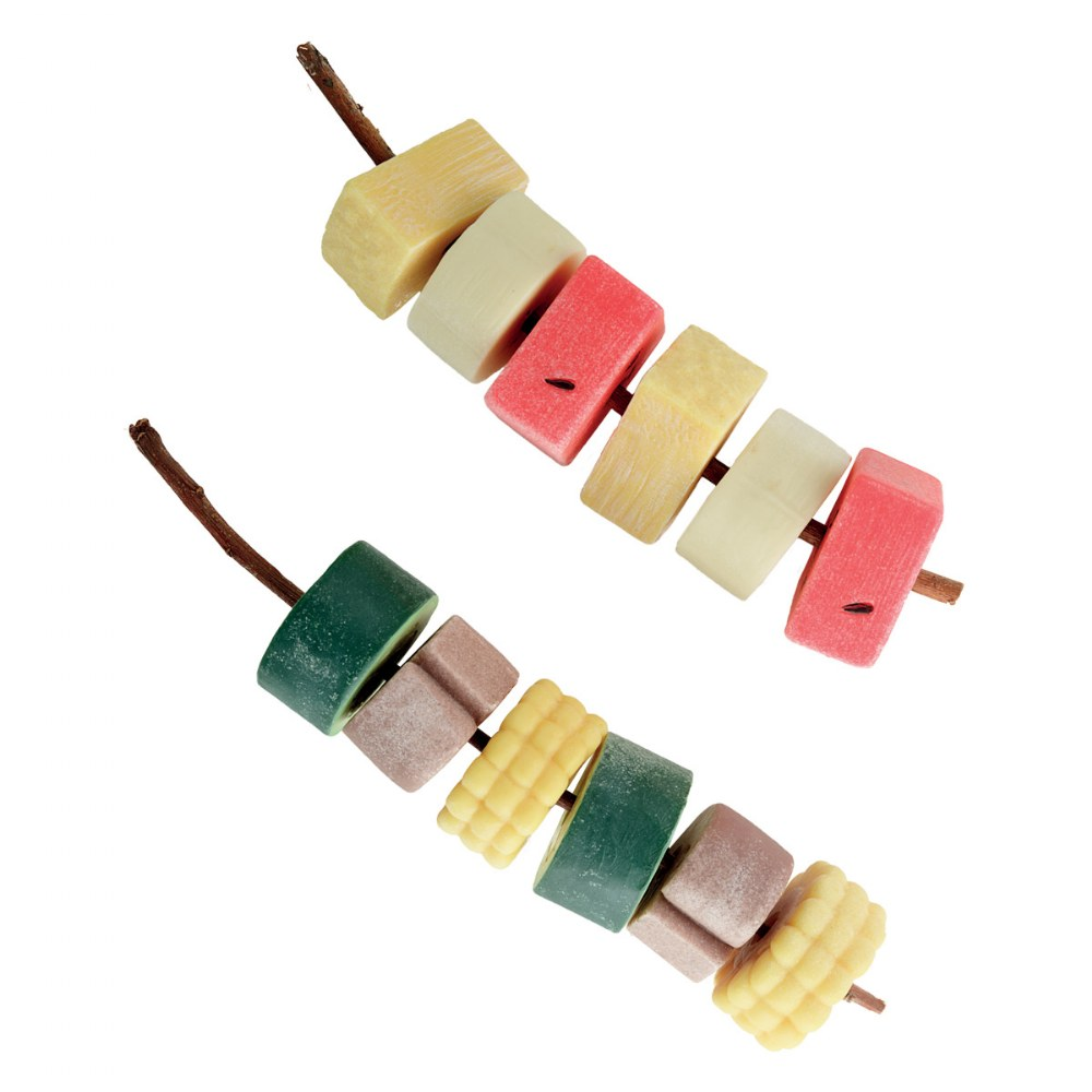 Alternate Image #2 of Sensory Play Stones: Threading Kebabs - Set of 12
