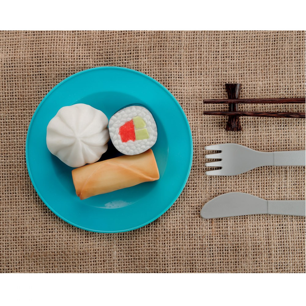 Alternate Image #3 of Sensory Play Stones: Foods of The World - Set of 8