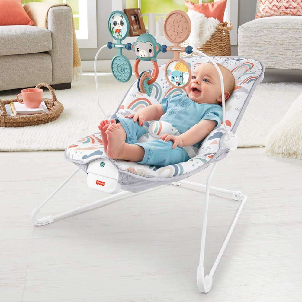 Alternate Image #2 of Rainbow Baby Bouncer